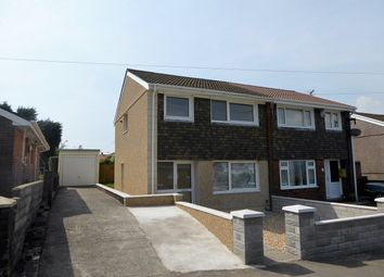 Thumbnail 3 bedroom semi-detached house for sale in Arwelfa, Morriston, Swansea