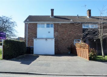 Thumbnail 2 bed end terrace house for sale in Purford Green, Harlow