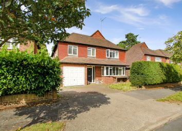 Thumbnail 4 bed detached house for sale in Lincoln Drive, Pyrford, Woking