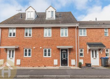 Thumbnail 3 bed town house for sale in Sprats Barn Crescent, Royal Wootton Bassett, Swindon