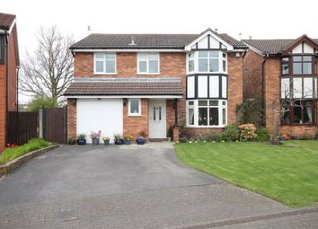 Thumbnail 4 bed detached house for sale in Aylsham Close, Widnes