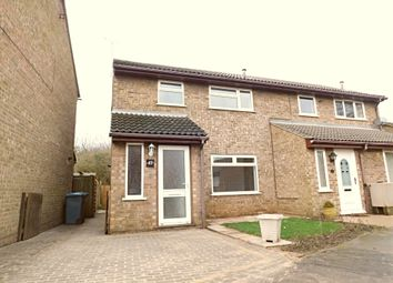 Thumbnail 3 bed semi-detached house for sale in Melford Way, Felixstowe