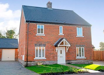 Thumbnail 4 bed detached house for sale in Brick Kiln Road, Fakenham