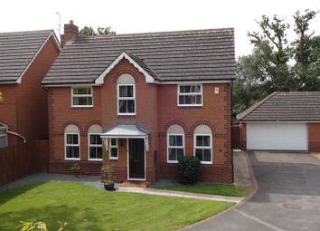 Thumbnail 4 bed detached house for sale in Frome Close, Lincoln