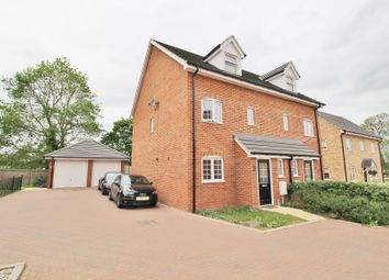 Thumbnail 3 bedroom semi-detached house for sale in Chamberlain Way, Shortstown, Bedford