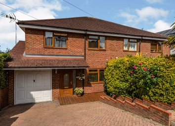 Thumbnail 4 bed semi-detached house for sale in Mount Drive, Park Street, St. Albans