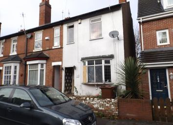 Thumbnail 3 bed end terrace house for sale in Victoria Street, Willenhall, West Midlands
