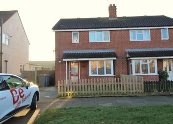 Thumbnail 2 bed semi-detached house to rent in Roxburgh Road, Ipswich