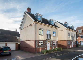 Thumbnail 4 bed detached house for sale in Dunnock Drive, Queens Hill, Norwich