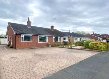Thumbnail 2 bed bungalow for sale in Mount Close, Nantwich