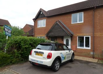 Thumbnail 2 bedroom terraced house to rent in Dorking Place, Shenley Brook End, Milton Keynes