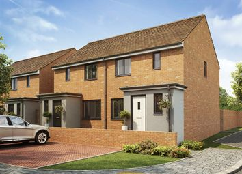 "Thumbnail 3 bed semi-detached house for sale in ""The Hanbury"" at Southfleet Road, Swanscombe"