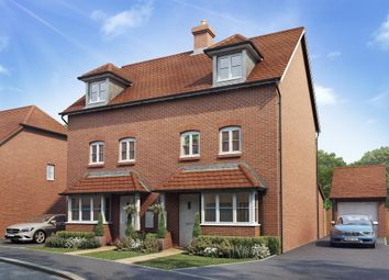 "Thumbnail 4 bed semi-detached house for sale in ""Woodvale"" at West End Lane, Henfield"