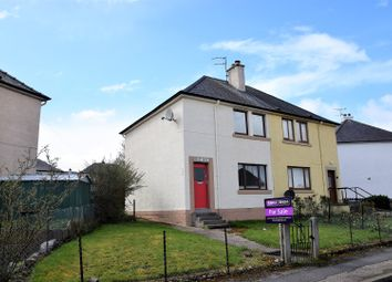 Thumbnail 2 bed semi-detached house for sale in Manse Crecent, Tain