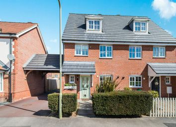 Thumbnail 3 bed end terrace house for sale in Blueberry Gardens, Andover