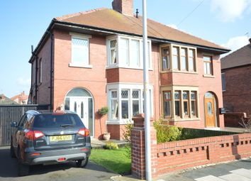 Thumbnail 3 bed semi-detached house for sale in Westby Avenue, Blackpool