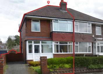 Thumbnail 3 bed semi-detached house for sale in Kirkway, Manchester