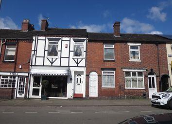 Thumbnail 2 bed terraced house for sale in High Street, May Bank, Newcastle