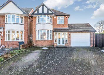 Thumbnail 3 bed detached house for sale in Seacroft Avenue, Yardley, Birmingham