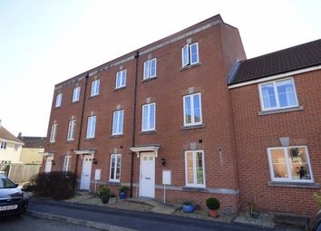 Thumbnail 4 bed town house for sale in Trelissick Gardens, Weston-Super-Mare