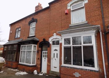 Thumbnail 3 bed terraced house for sale in Castleford Road, Sparkhill, Birmingham