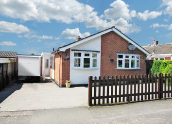 Thumbnail 2 bed detached bungalow for sale in Hill View Drive, Cosby, Leicester