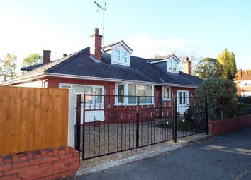 Thumbnail 4 bed bungalow to rent in Lawson Road, Wrexham