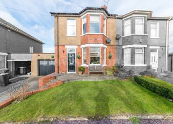 Thumbnail 4 bed semi-detached house for sale in Christchurch Road, Newport, Gwent.