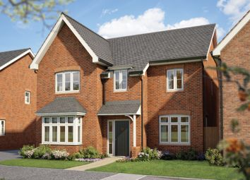 "Thumbnail 5 bed detached house for sale in ""The Birch "" at Silverwoods Way, Kidderminster"
