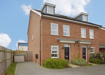 Thumbnail 3 bed town house for sale in King Stephen Meadows, Milton Keynes, Buckinghamshire