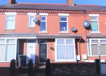 Thumbnail 2 bedroom terraced house to rent in Ruabon Road, Wrexham