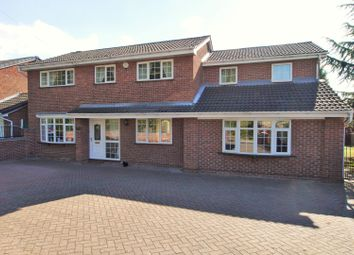 Thumbnail 5 bed detached house for sale in Brecks Lane, Kirk Sandall, Doncaster