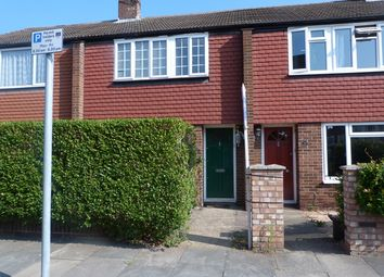 Thumbnail 3 bed terraced house to rent in Grove Road, Colliers Wood, London