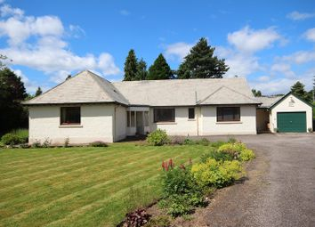 Thumbnail 4 bed detached bungalow for sale in Greengables, 10 Drummond Road, Drummond, Inverness.