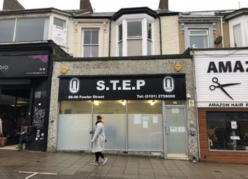 Thumbnail Retail premises for sale in 96/98 Fowler Street, South Shields
