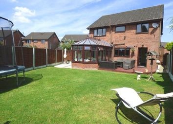 Thumbnail 4 bedroom detached house for sale in Rosebank, Lea, Preston, Lancashire