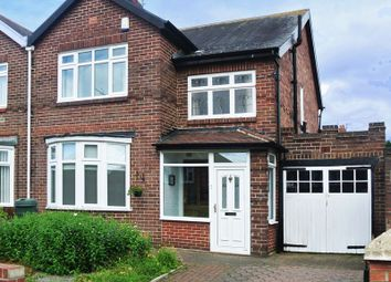 Thumbnail 3 bedroom semi-detached house for sale in Stocksfield Avenue, Fenham, Newcastle Upon Tyne