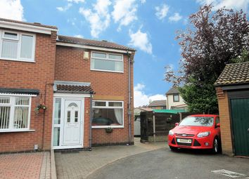 Thumbnail 2 bed semi-detached house for sale in Morston, Dosthill, Tamworth