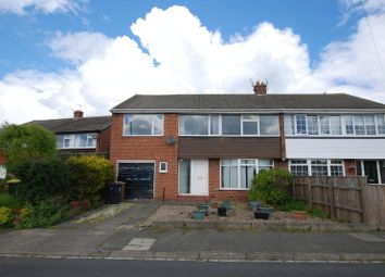 Thumbnail 5 bed semi-detached house for sale in Winchester Walk, Wideopen, Newcastle Upon Tyne