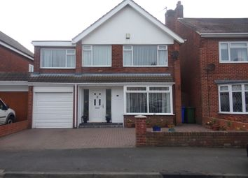 Thumbnail 4 bed detached house for sale in Matthew Road, Blyth