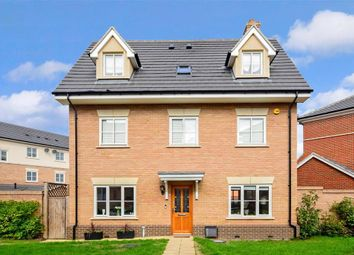 Thumbnail 5 bed detached house for sale in Mowbray Close, Epping, Essex
