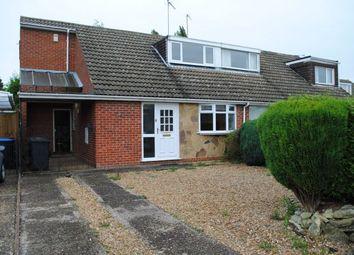 Thumbnail 4 bed semi-detached house for sale in Reynard Way, Kingsthorpe, Northampton