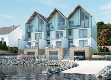 Thumbnail 4 bed end terrace house for sale in Boston Quays Development, Baylys Road, Oreston, Plymouth