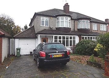 Thumbnail 3 bed semi-detached house to rent in Faraday Avenue, Sidcup