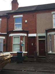 Thumbnail 3 bedroom terraced house to rent in Hugh Road, Coventry