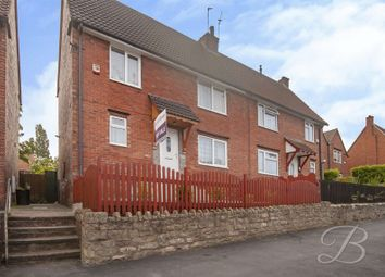 Thumbnail 3 bed semi-detached house for sale in Hibbert Road, Mansfield