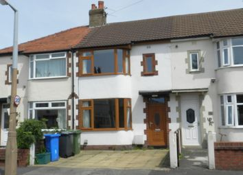 Thumbnail 2 bed terraced house to rent in Ullswater Avenue, Thornton-Cleveleys