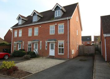Thumbnail 3 bed end terrace house to rent in Lady Grey Avenue, Heathcote, Warwick