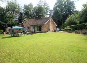 Thumbnail 5 bedroom detached bungalow for sale in Mill Hill Hollow, Stockport