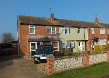 Thumbnail 3 bed end terrace house for sale in Harris Crescent, Needingworth, St. Ives, Huntingdon